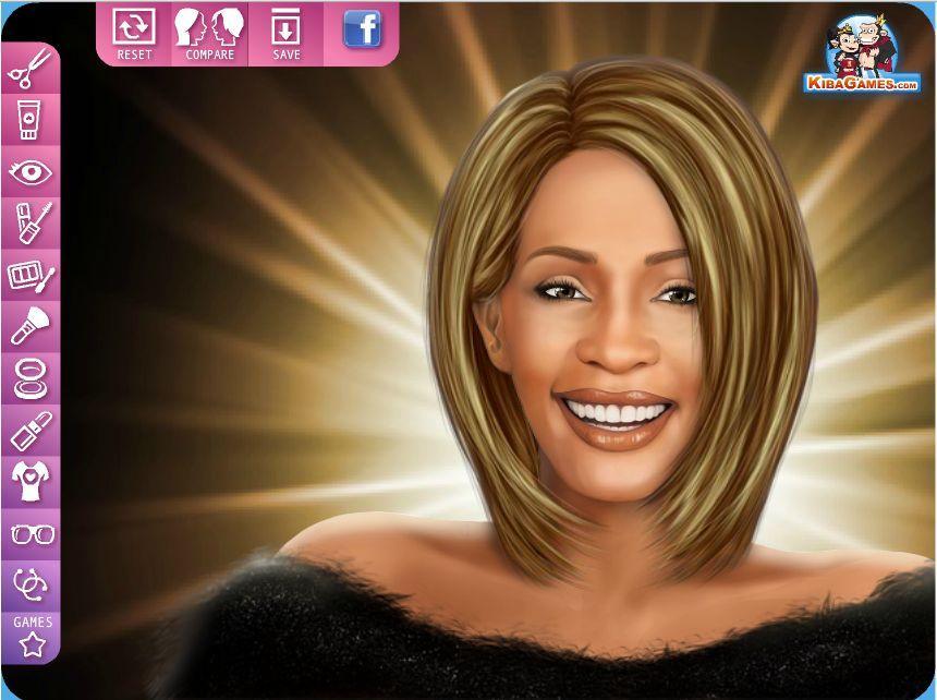 Makijaż Whitney Houston Gry Dla Dziewczyn Wwwubierankieu