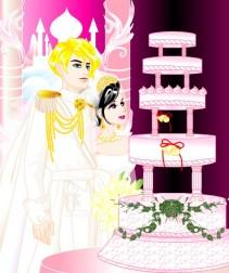 Tort dla młodej pary