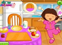 Śniadanie Dory