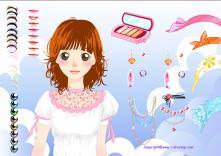 Pomaluj dziewczynę
