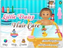 Włosy małej Daisy
