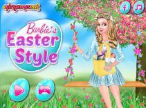 Barbie na Wielkanoc