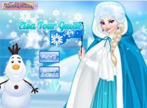 Elsa - przewodniczka po Krainie Lodu