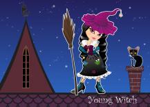 Młoda czarownica