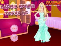 Wiosenne suknie Barbie