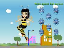 W przebraniu pszczółki