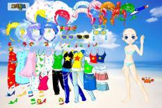 Dress up summer girls
