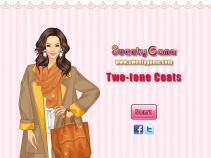 Dwukolorowe płaszcze